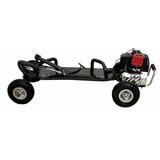 Super Carve Skate Motorizado Á Gasolina 50cc Freio A Disco