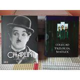 Dvd Chaplin: A Obra Completa Videografia Entrevistas Curtas