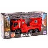Caminhão Brutale Bombeiro + Urban Coletor Lixo - Roma
