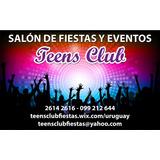 Salón Fiestas Adolescentes Baile Matinée - Teens Club