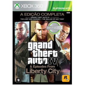 Grand Theft Auto Iv Gta 4 Complete Edition Xbox 360