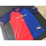 Camiseta Barcelona Retro Centenario 98-99 Rivaldo