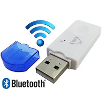 Adaptador Usb Bluetooth Musica Carro Celular Áudi Som Radio