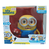 Minions Bob Interacts With Teddy Bear Toy Plus 20173