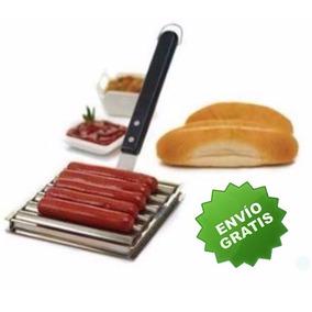 Salchichas Roller Hotdog Asador Parrilla Rotativa