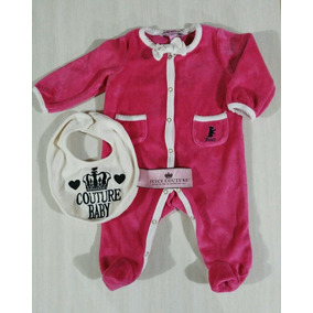 Mameluco Para Bebé Recién Nacido Niña, Juicy Couture