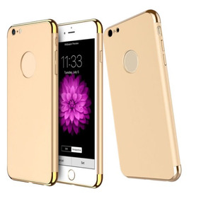 Caso Para Apple Iphone 3 En 1 Híbrido... (gold, For.)