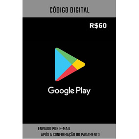 Vale Presente Google Play | R$ 60,00 | Gift Card
