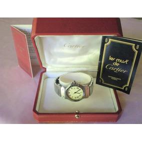 Reloj Cartier Santos Octagon Acero Impecable Unisex