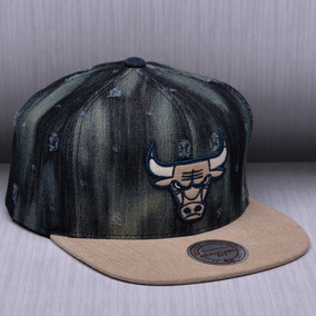 313ad4633e126 Boné Mitchell And Ness Snapback Chicago Bulls Speedway Pret - Bonés ...