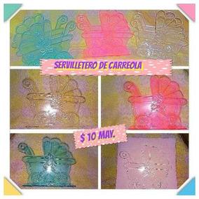 Servilletero De Carreola De Plástico Cristal