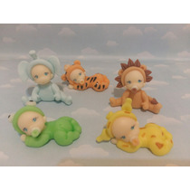 10 Souvenirs Bebes Disfrazados. Bautismo.nacimiento.porcelan