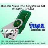 Memoria Micro Usb Kingston 64 Gb Oferta Original