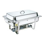 Chafing Dish Rectangular 9lts 2 Insertos Medio Migsa - 431-2