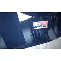 Jeans Levanta Cola Efecto Push Up Sin Bolsillo 32/42