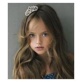 Tiara O Corona Diadema De Princesa O Reina Comunion Bebe Xvs