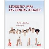 Estadistica Para Las Ciencias Sociales Ritchey