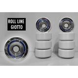 Ruedas Patín Artistico Libre Roll Line Giotto 57mm X4