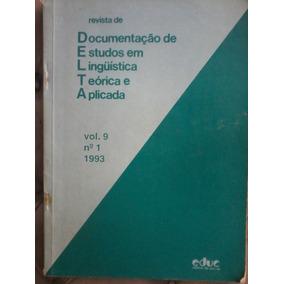 Documentação De E.em Linguistica Teorica Aplicada,nº1,vol 9
