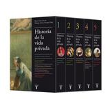 Estuche Historia De La Vida Privada - Philippe Aries / Duby