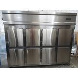 Geladeira Vertical Em Aço Inox (industrial)