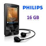 Philips Mp4 16gb Gogear Ariaz Con Altavoz Y Radio Fm