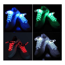Cordones Led Para Zapatillas Luminosos Vs. Colores Cotillon
