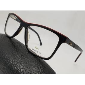 12b7ddfbf7a0b Monturas Gafas Marcos Lacoste Negras Grandes Hombre Mujer ·   119.900