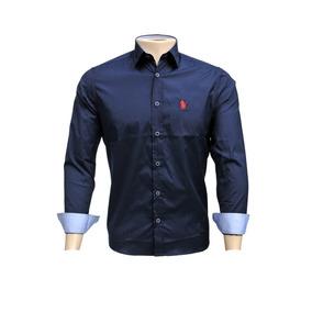 Camisa Polo Ogochi - Camisa Masculino Azul marinho no Mercado Livre ... 98ca57d65b9