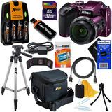 Nikon Coolpix B500 Wi-fi, Cámara Digital Nfc Con Zoom 40x