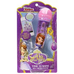 Microfono Disney Sophia Con Luz