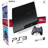 Playstation 3 Slim 160 Gb Sony Original Nuevo A Estrenar