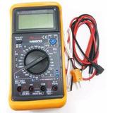 Multimetro Digital Temperatura Capacidad Frecuencia M890g