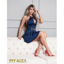 Vestido Pit Bull Jeans Com Bojo