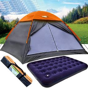 Barraca Weekend Para Camping 4 Pessoas + Colchão Echolife