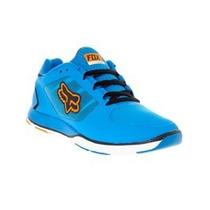 Tenis Fox Racing Motion Evo Azul Naranja 7 Mtb Downhill