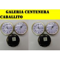 Maquinas Relojes Insertos 8cm Por 10 Artesania, Souvenirs