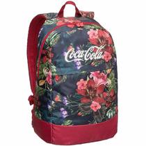 Mochila Escolar Coca Cola Lançamento Bloom - Original*