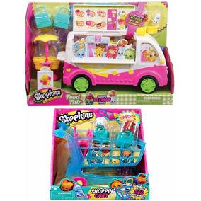 Shopkins Camion Helados Nieve Y Carrito Carro Super Mercado