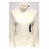 Chaleco Con Cuello Gap Original Mujer L 0036 Blanco Hueso