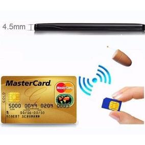 Cartão Espião Com Cartão Crédito Gsm Sem Fio