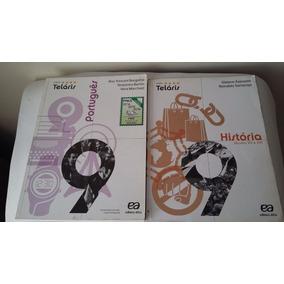 Kit Com 2 Livro Projeto Teláris Hist. E Port. 9º Ano