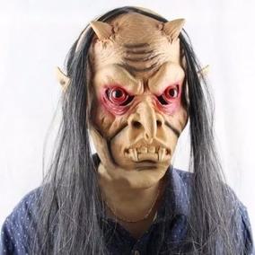 Máscara De Monstro Diabo Latex - Halloween Cosplay Fantasia