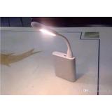 Mini Luminária Luz Lampada Led Notebook Usb Flexível 3unidad
