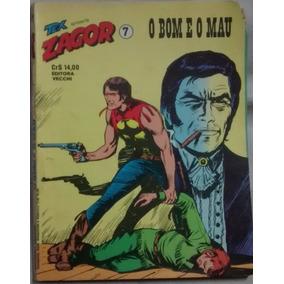 Zagor 07 O Bom E O Mau Editora Vecchi 1979