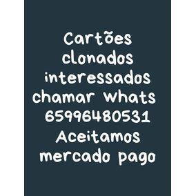 Cartão De Credito Com Jaqueta Clonado
