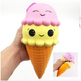 Helado Ice Cream Squishy Muñeco Soft Kawaii Villa Urquiza