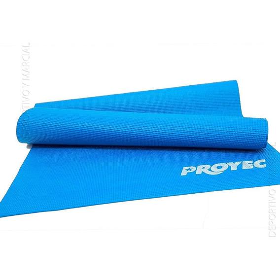 Colchoneta Mat 6 Mm Para Yoga Pilates Fitness Pvc Alfombra