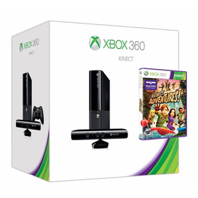 Xbox 360 Super Slim 4 Gb + Sensor Kinect + 1 Jogo Novo!