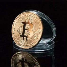 Moeda Física Do Bitcoin Para Colecionar Sem Valor Monetário